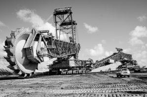 Eine Tour in den Tagebau