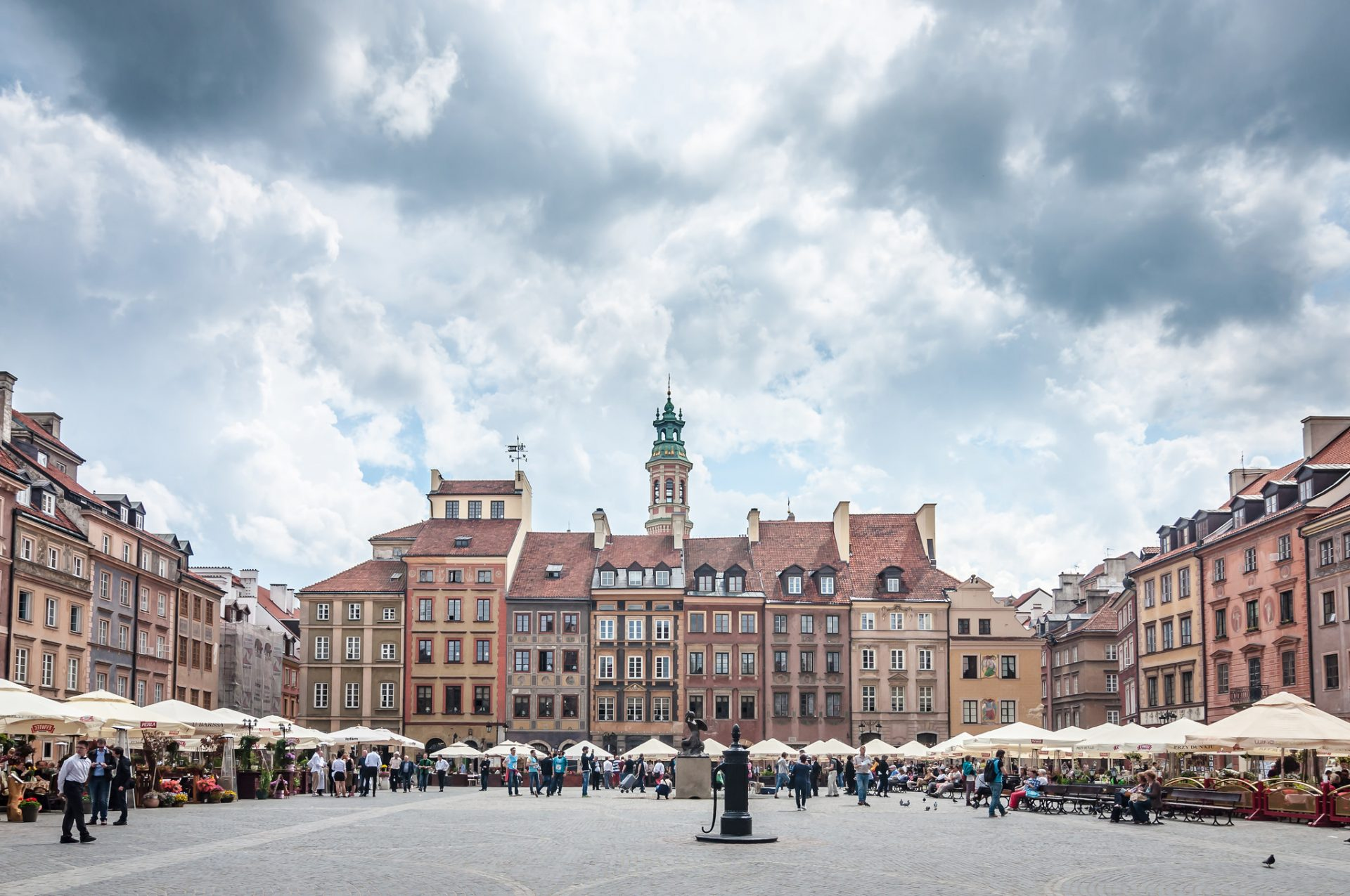Unterwegs in der polnischen Hauptstadt